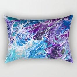 Iridescent Mermaid Rectangular Pillow
