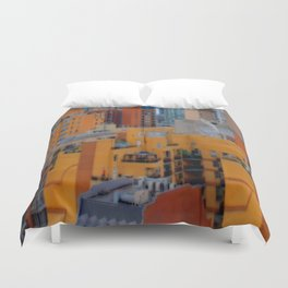 Urbanization No.1 Duvet Cover