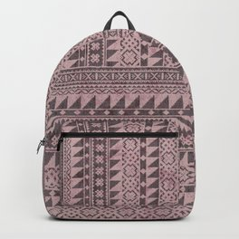 triangle kilim in pale pink Backpack