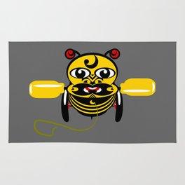 Hei Tiki Bee Toy Rug