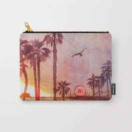 Sunset in Santa Monica Carry-All Pouch