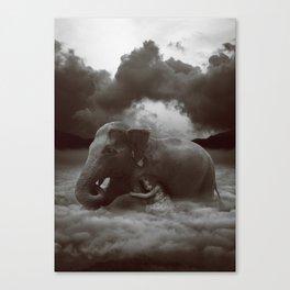 Soft Heart In a Cruel World Canvas Print
