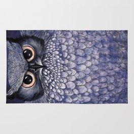 La Sagesse du Hibou (The Blue Owl) Rug