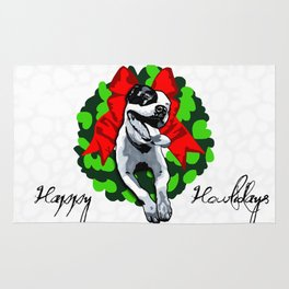 Happy Howlidays Rug