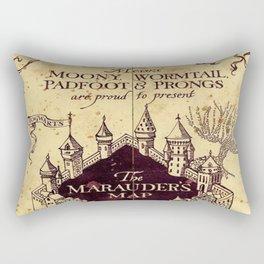 bown map Rectangular Pillow