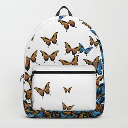 Two Tones Butterfly Backpack