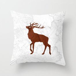 Les Bois Throw Pillow