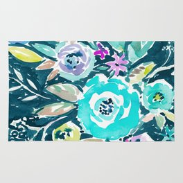 BEAUTY AND THE BADASS FLORAL Rug
