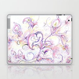 Purple calla lilies Laptop & iPad Skin