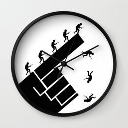 To the arms! Wall Clock
