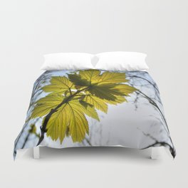Reach For The Light Duvet Cover