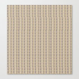 Steve Buscemi's Eyes Tiled Pattern Comic Canvas Print