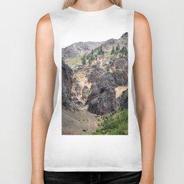 Gold Rush Prospect Hole High Above the Animas River Biker Tank