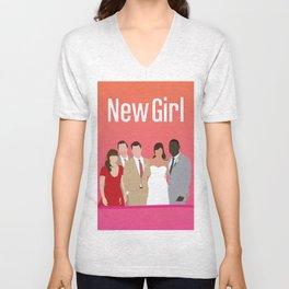 New Girl Unisex V-Neck