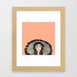Southwest queen Framed Art Print