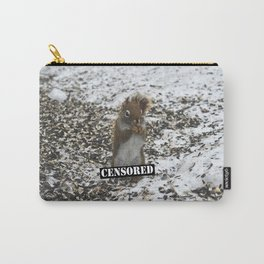 Censored Audience Carry-All Pouch
