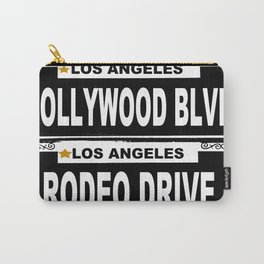 Los Angeles California Carry-All Pouch