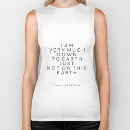Fashion Wall Art Fashion Decor Karl Lagerfeld Quotes Karl Lagerfeld Print Printable Quotes Fashion Biker Tank