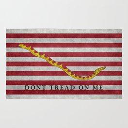 First Navy Jack flag of the USA, vintage Rug