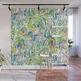 Endangered in the Rainforest Wall Mural