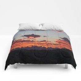 Aegean Sunset Comforters