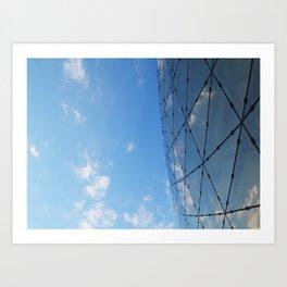 The Glass Ceiling Art Print
