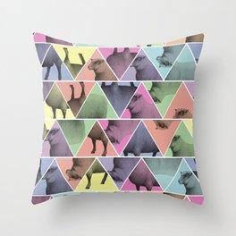 Triangle Sheep Throw Pillow