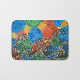 Waves in my Dreams Bath Mat