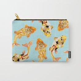 Goldfish #society6 #decor #buyart Carry-All Pouch