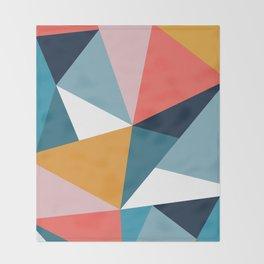 Modern Geometric 35 Throw Blanket