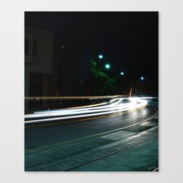 The Drive-by  Canvas Print