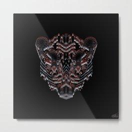 Tiger Abstract Metal Print