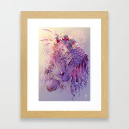 Magical Wishes Framed Art Print