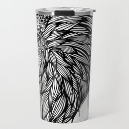 Lion Illustration Travel Mug