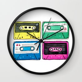 Cassettes Wall Clock