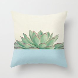 Succulent Dip III Throw Pillow