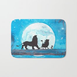The Lion King Stencil Bath Mat