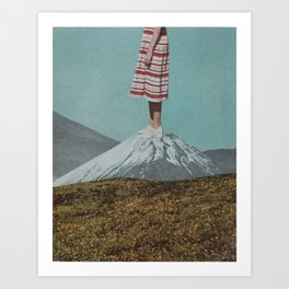 Meadow Mountain Art Print