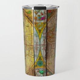Around the World in Thirteen Maps Travel Mug