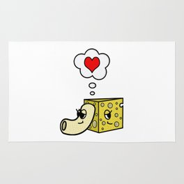 Mac -N- Cheese Love Rug