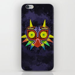 Majora's Mask Splatter iPhone Skin