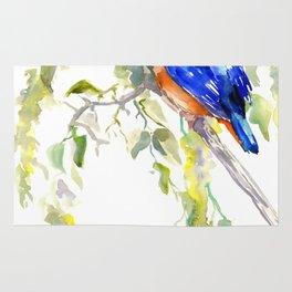 Kingfisher on the Tree Rug