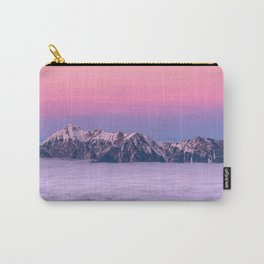 Mountains over the clouds Carry-All Pouch