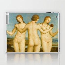 """Raffaello Sanzio da Urbino """"Three Graces"""", circa 1504-1505 Laptop & iPad Skin"""