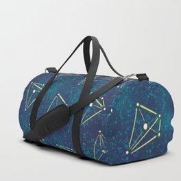 Tetrahedral Molecular Geometry Constellation Art Duffle Bag