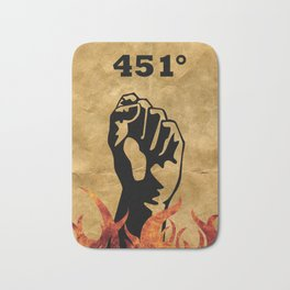 Fahrenheit 451 - Ray Bradbury Bath Mat
