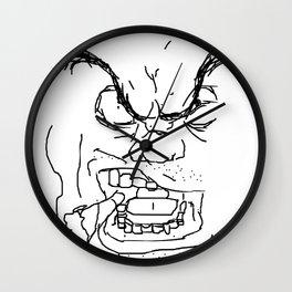 Screamin' Smokin' Sarge Wall Clock