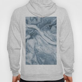 Cipollino Azzurro blue marble Hoody