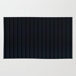 Dark Blue Suit Textile Rug