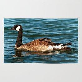 Lake Superior Goose Rug